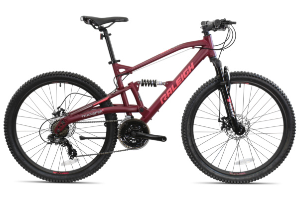 Raleigh Tracker Dual Suspension